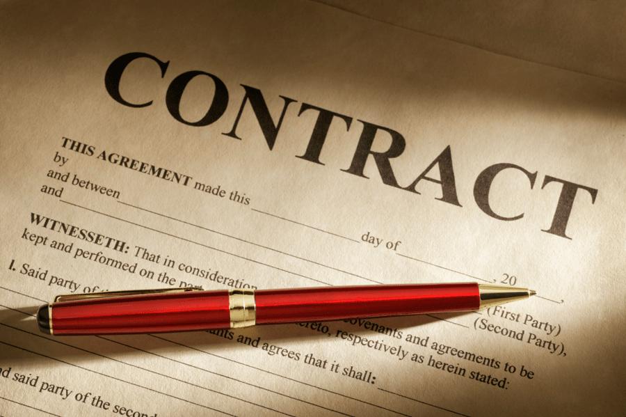 عقد قرارداد با شرکت حسابداری