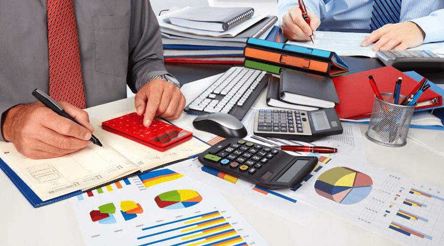 کار حسابداری